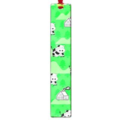 Animals Cow Home Sweet Tree Green Large Book Marks by Alisyart