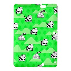Animals Cow Home Sweet Tree Green Kindle Fire Hdx 8 9  Hardshell Case by Alisyart