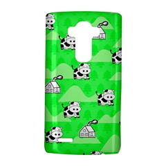 Animals Cow Home Sweet Tree Green Lg G4 Hardshell Case by Alisyart