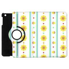 Beans Flower Floral Yellow Apple Ipad Mini Flip 360 Case by Alisyart