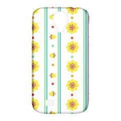 Beans Flower Floral Yellow Samsung Galaxy S4 Classic Hardshell Case (pc+silicone) by Alisyart