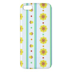 Beans Flower Floral Yellow Iphone 5s/ Se Premium Hardshell Case by Alisyart