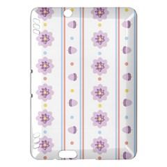 Beans Flower Floral Purple Kindle Fire Hdx Hardshell Case by Alisyart