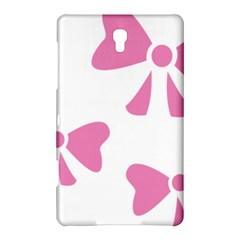 Bow Ties Pink Samsung Galaxy Tab S (8 4 ) Hardshell Case  by Alisyart