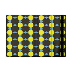 Blue Black Yellow Plaid Star Wave Chevron Ipad Mini 2 Flip Cases by Alisyart