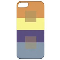Color Therey Orange Yellow Purple Blue Apple Iphone 5 Classic Hardshell Case by Alisyart