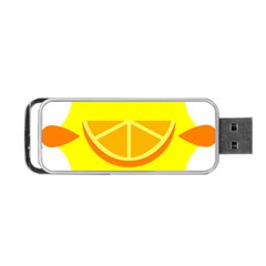 Citrus Cutie Request Orange Limes Yellow Portable Usb Flash (one Side) by Alisyart