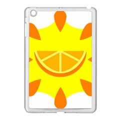 Citrus Cutie Request Orange Limes Yellow Apple Ipad Mini Case (white) by Alisyart