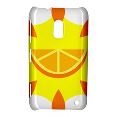 Citrus Cutie Request Orange Limes Yellow Nokia Lumia 620 by Alisyart
