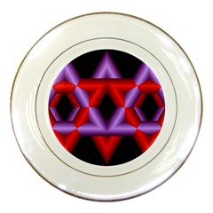 Star Of David Porcelain Plates by Simbadda