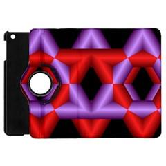 Star Of David Apple Ipad Mini Flip 360 Case by Simbadda
