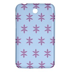 Flower Floral Different Colours Blue Purple Samsung Galaxy Tab 3 (7 ) P3200 Hardshell Case  by Alisyart