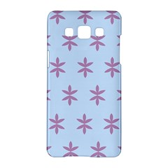 Flower Floral Different Colours Blue Purple Samsung Galaxy A5 Hardshell Case  by Alisyart