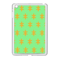 Flower Floral Different Colours Green Orange Apple Ipad Mini Case (white) by Alisyart