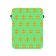 Flower Floral Different Colours Green Orange Apple Ipad 2/3/4 Protective Soft Cases by Alisyart