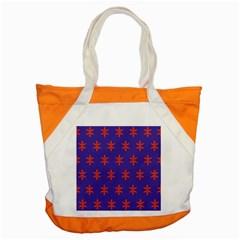 Flower Floral Different Colours Purple Orange Accent Tote Bag by Alisyart