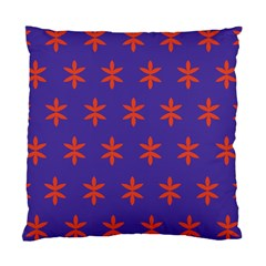 Flower Floral Different Colours Purple Orange Standard Cushion Case (one Side) by Alisyart