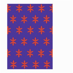 Flower Floral Different Colours Purple Orange Small Garden Flag (two Sides) by Alisyart