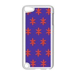 Flower Floral Different Colours Purple Orange Apple Ipod Touch 5 Case (white) by Alisyart