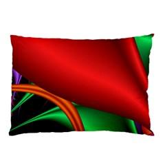 Fractal Construction Pillow Case by Simbadda