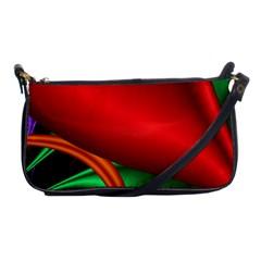 Fractal Construction Shoulder Clutch Bags by Simbadda