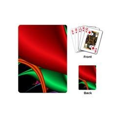 Fractal Construction Playing Cards (mini)  by Simbadda