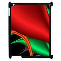 Fractal Construction Apple iPad 2 Case (Black)