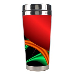 Fractal Construction Stainless Steel Travel Tumblers by Simbadda