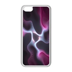 Colorful Fractal Background Apple Iphone 5c Seamless Case (white) by Simbadda