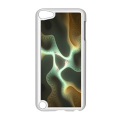 Colorful Fractal Background Apple Ipod Touch 5 Case (white) by Simbadda