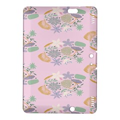 Floral Flower Rose Sunflower Star Leaf Pink Green Blue Kindle Fire Hdx 8 9  Hardshell Case by Alisyart