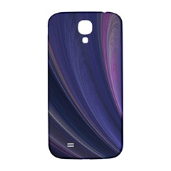 Purple Fractal Samsung Galaxy S4 I9500/i9505  Hardshell Back Case by Simbadda