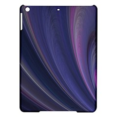 Purple Fractal Ipad Air Hardshell Cases by Simbadda