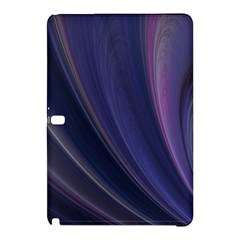Purple Fractal Samsung Galaxy Tab Pro 10 1 Hardshell Case by Simbadda