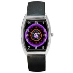 Hypocloid Barrel Style Metal Watch by Simbadda