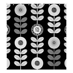 Floral Pattern Seamless Background Shower Curtain 66  X 72  (large)  by Simbadda