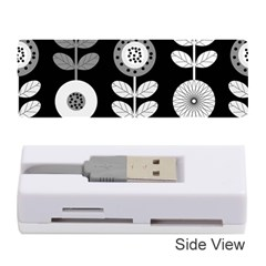 Floral Pattern Seamless Background Memory Card Reader (stick)  by Simbadda