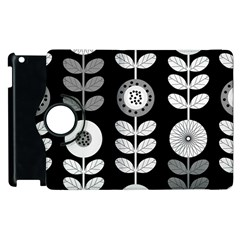 Floral Pattern Seamless Background Apple Ipad 2 Flip 360 Case by Simbadda