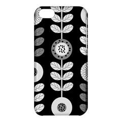 Floral Pattern Seamless Background Apple Iphone 5c Hardshell Case by Simbadda
