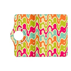Abstract Pattern Colorful Wallpaper Kindle Fire Hd (2013) Flip 360 Case by Simbadda