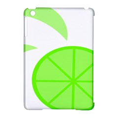 Fruit Lime Green Apple Ipad Mini Hardshell Case (compatible With Smart Cover) by Alisyart