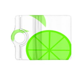 Fruit Lime Green Kindle Fire Hd (2013) Flip 360 Case by Alisyart