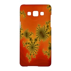 Decorative Fractal Spiral Samsung Galaxy A5 Hardshell Case  by Simbadda