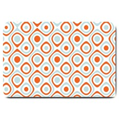 Pattern Background Abstract Large Doormat  by Simbadda