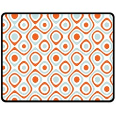 Pattern Background Abstract Fleece Blanket (medium)  by Simbadda