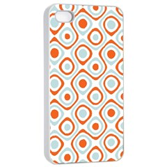Pattern Background Abstract Apple Iphone 4/4s Seamless Case (white) by Simbadda