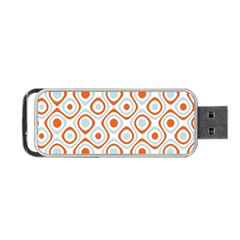 Pattern Background Abstract Portable Usb Flash (one Side) by Simbadda