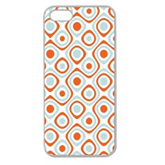 Pattern Background Abstract Apple Seamless Iphone 5 Case (clear) by Simbadda