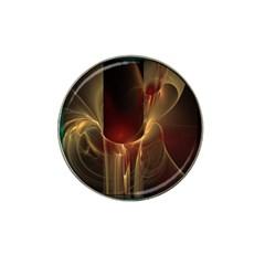 Fractal Image Hat Clip Ball Marker by Simbadda