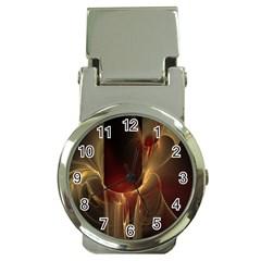 Fractal Image Money Clip Watches by Simbadda